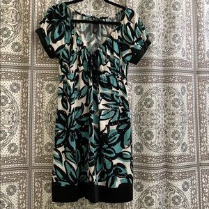 Inc dress with rhinestones